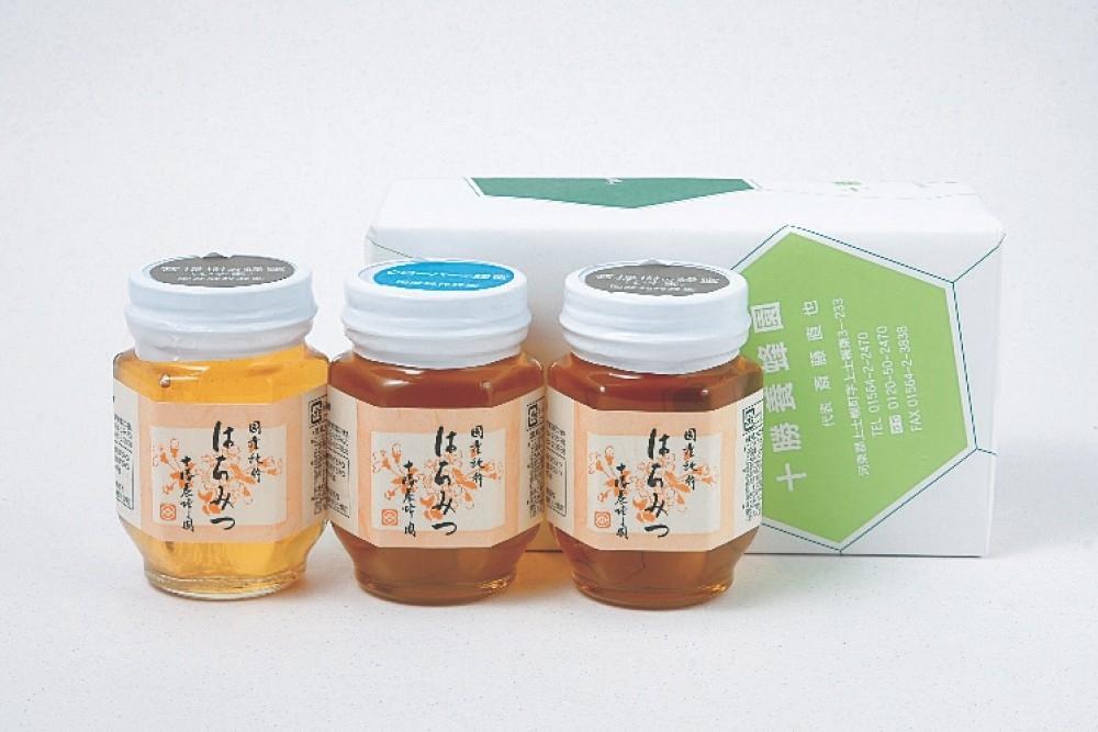 味わいも香りもまったく異なる十勝養蜂園のハチミツ