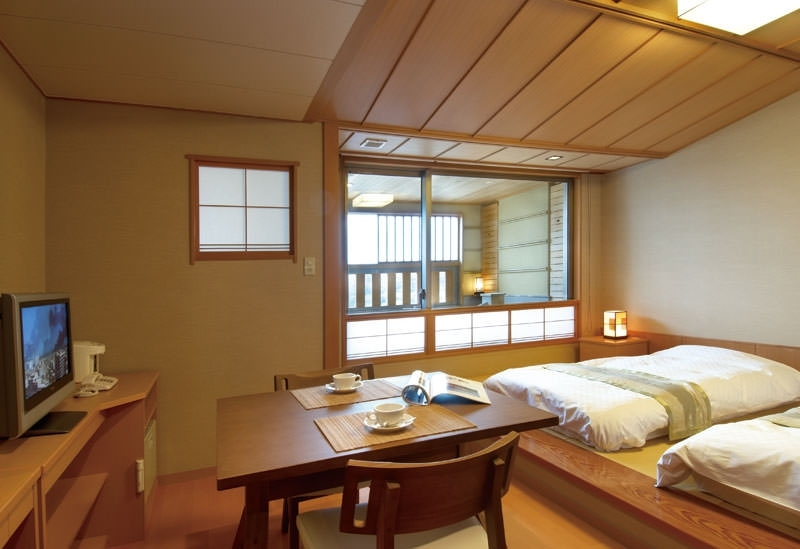 純和風から和洋折衷まで、選べる4タイプの部屋