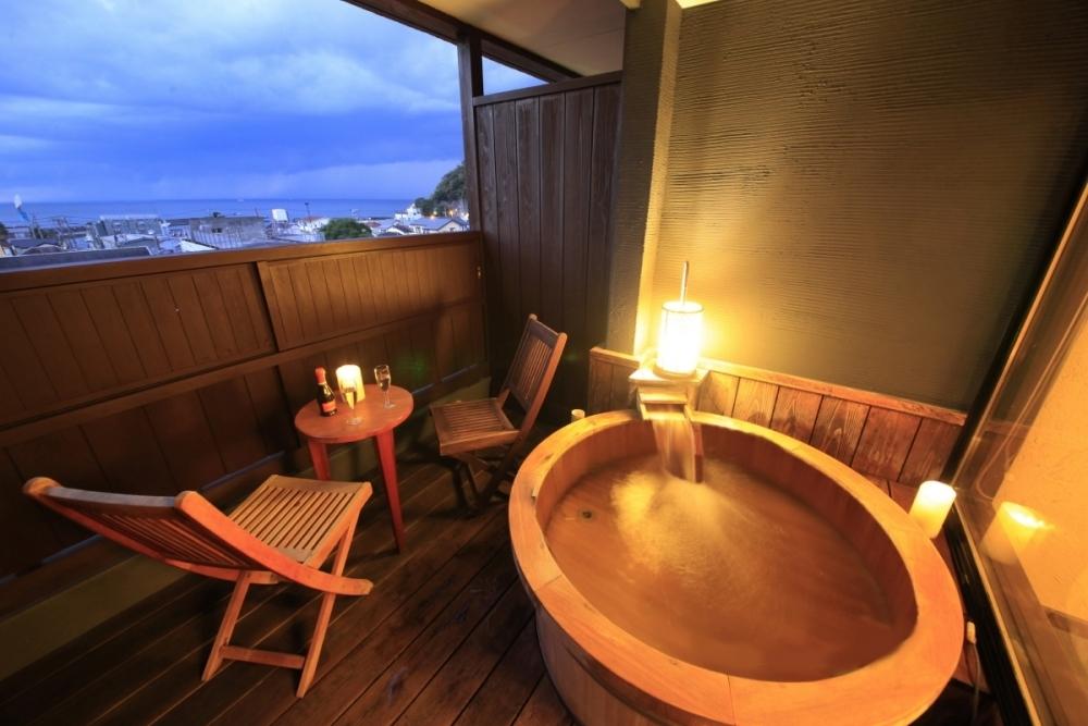 宿泊するなら迷わず露天風呂付きの客室