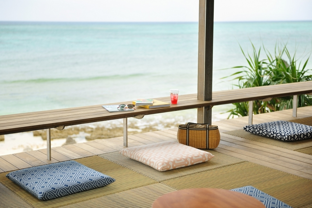 国内最大級の海カフェ「バンタカフェ」でくつろぎタイムを過ごそう