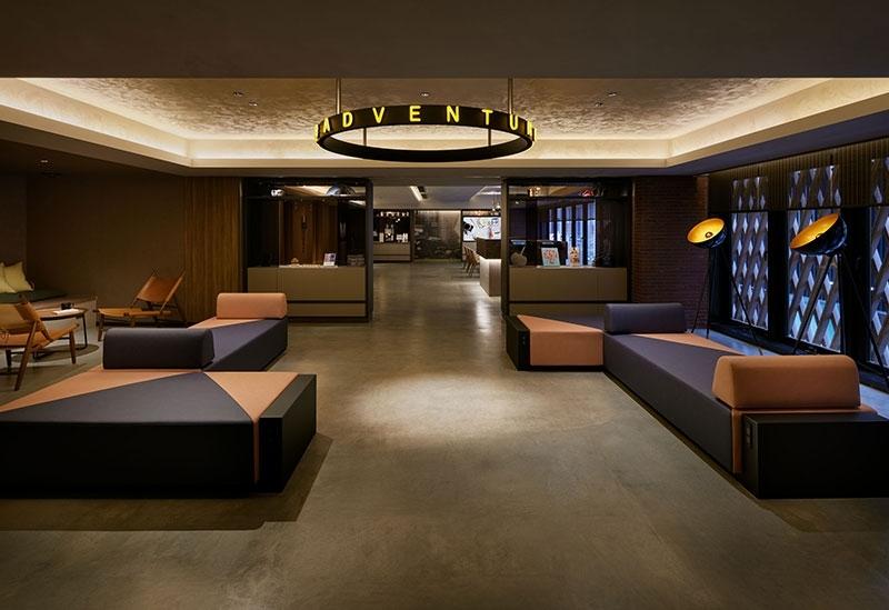 24時間好きな時間に使える新しいスタイルのホテル「the b 銀座」