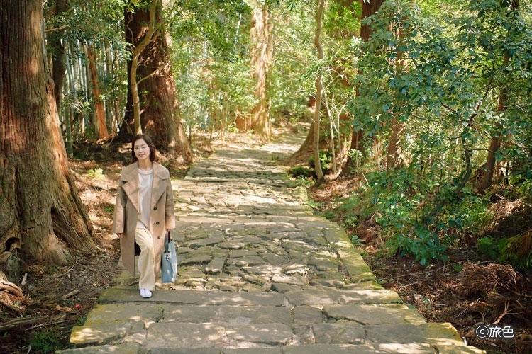 笛木優子さんが南紀・熊野灘で自然のパワーを感じる旅へその4