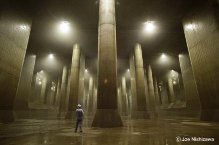 世界最大の地下洪水放水路施設「首都圏外郭放水路」