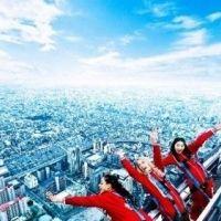 日本初、地上300mの断崖絶壁スリル体験!「あべのハルカス」に新アトラクションデビュー