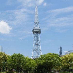 名古屋テレビ塔がリニューアル前にプロジェクションマッピングイベント開催中その0