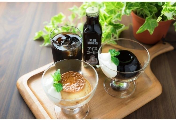 名物プリン&コーヒーゼリー&瓶詰めコーヒーセット