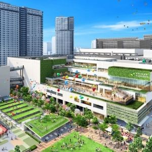 ホテルに緑地、ついに「有明ガーデン」が8月オープン! 全貌をチェックその0