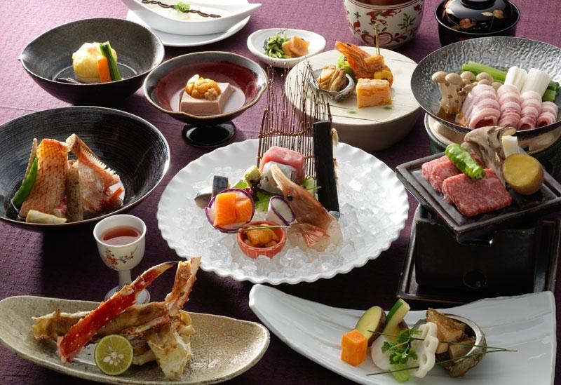 北海道で収穫された旬の食材で空腹を満たす