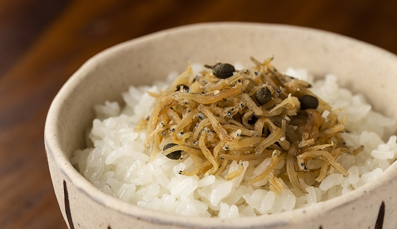 JAXAが認証した宇宙日本食「ちりめん山椒」