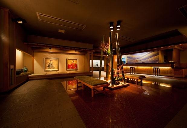 7つの湯処がある和風旅館「緑翠亭 景水」
