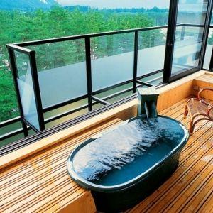 7つの湯処でのんびり湯めぐり。上質な滞在が叶う宿「緑翠亭 景水」