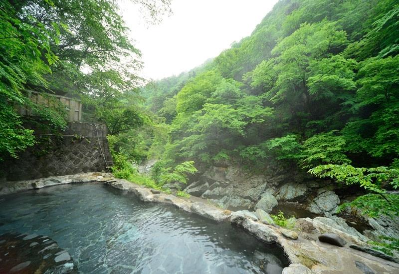 源泉かけ流しの天然温泉を堪能できる「湯守 田中屋」(栃木)
