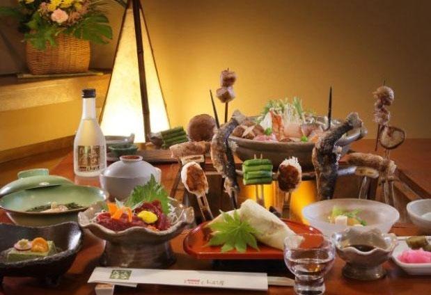 福島県のお料理重視で選びたいおすすめの宿②一流の田舎 熱塩温泉 山形屋