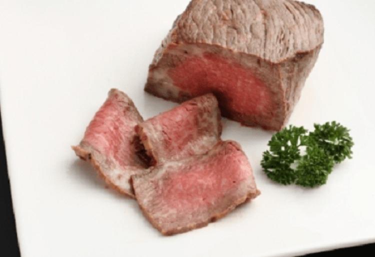 最高級淡路ビーフを使った「嶋本食品」のローストビーフ