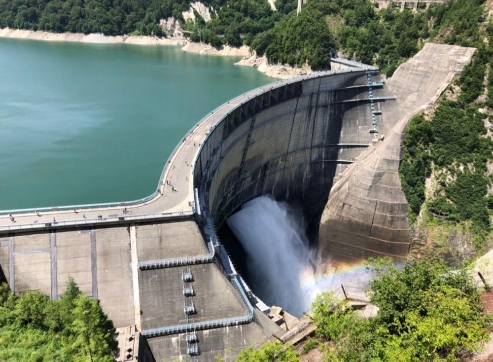 期間限定アートと黒部ダム。この夏、見に行くべき長野県大町市の観光スポットその2