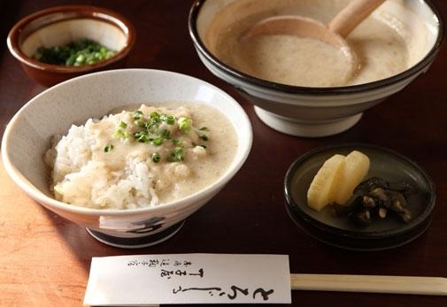 静岡おすすめの名物グルメ①「元祖 丁子屋」のとろろ汁