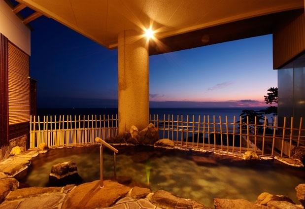 大パノラマの露天風呂