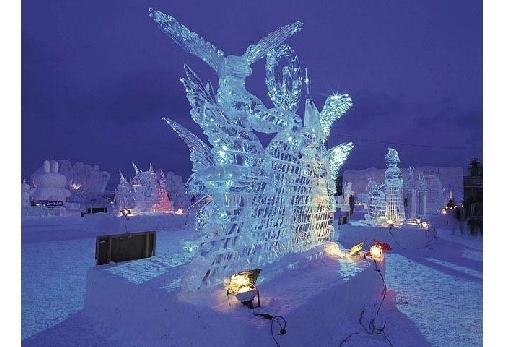 全国で開催される冬ならではのお祭り② あばしりオホーツク流氷まつり