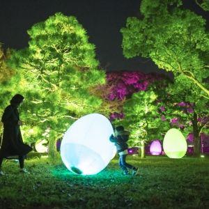 特別な演出で年越しカウントダウン!「福岡城 チームラボ 城跡の光の祭」大晦日は26時まで延長その0