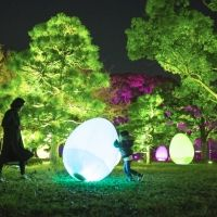 特別な演出で年越しカウントダウン!「福岡城 チームラボ 城跡の光の祭」大晦日は26時まで延長