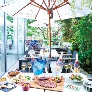 東京ミッドタウンで優雅な大人の夏を。期間限定のバーベキュープラン登場