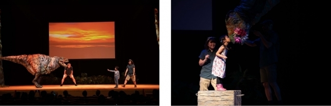 リアルな恐竜パペットと触れ合える「恐竜どうぶつ園2020」(全国巡回)