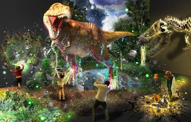 「ネイキッド」による没入型恐竜体験も!「マンダイプレゼンツ ティラノサウルス展 ~T.rex驚異の肉食恐竜~」(大阪)
