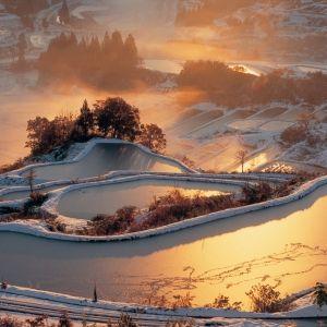 新潟県「星峠の棚田」で、星と朝日の絶景に出合う旅。