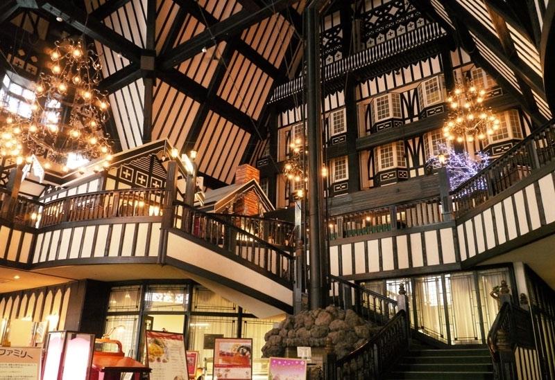 634室を誇るビッグスケールのホテル