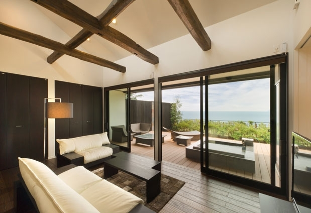 贅沢な客室