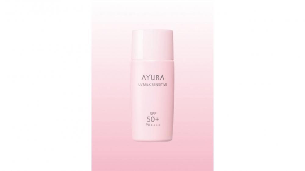 敏感肌に嬉しい低刺激の日やけ止めミルク「アユーラ UVミルク センシティブ(医薬部外品)」SPF50+・PA++++