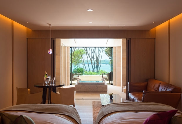 それぞれの世界観を持つ全8部屋の客室