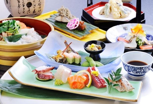「ゆのごう美春閣」の魅力③地元・岡山の食材を使った会席料理
