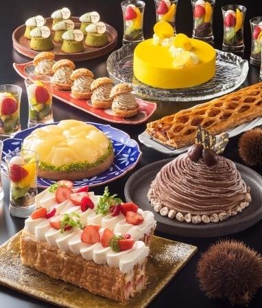 「NIPPON」をテーマに日本各地の食材を用いたデザートブッフェ