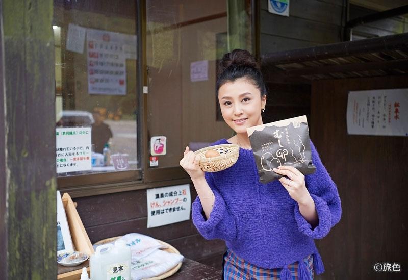 藤原紀香さんが大分県・由布院で大自然のパワーをチャージ! 大人の女性のための温泉旅へその2
