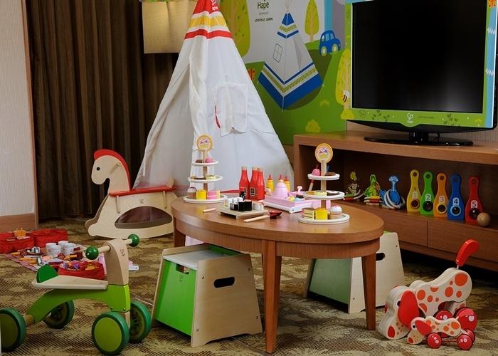 全10タイプのテーマルームで、圧倒的な数の玩具を独り占め!