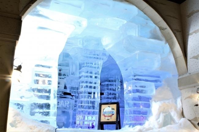 一歩足を踏み入れればまるで別世界! 毎年好評の氷のBar