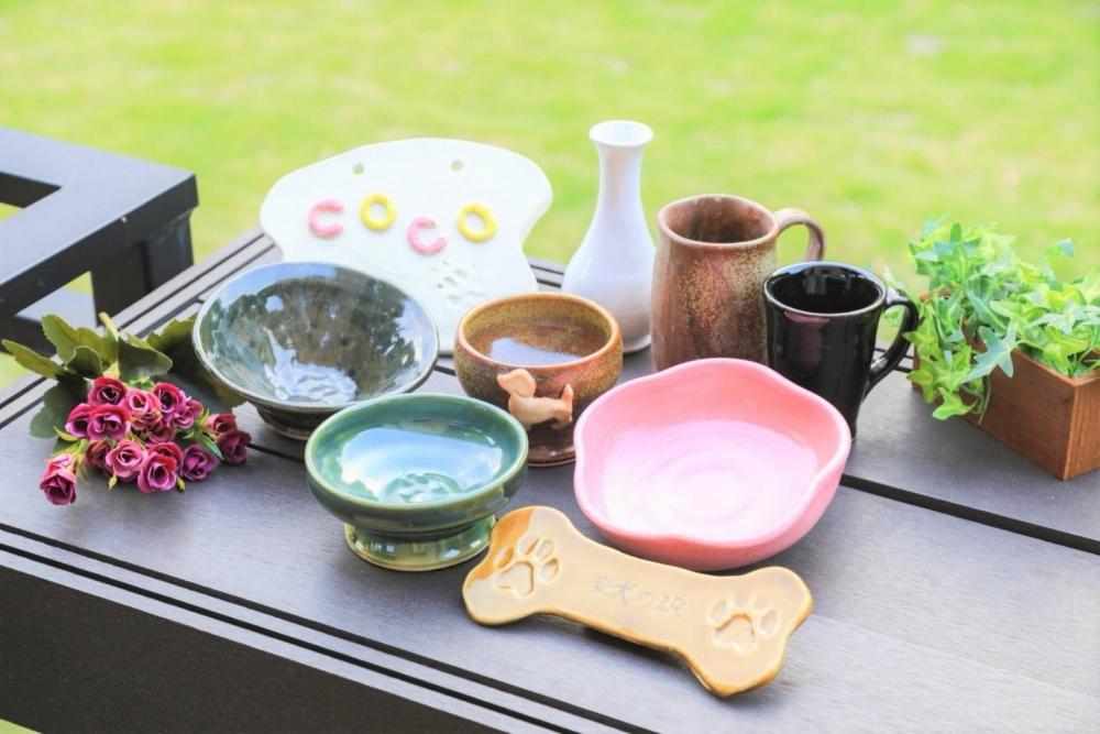 陶芸、オリジナルグッズ作り、ショッピング……。丸一日楽しめる