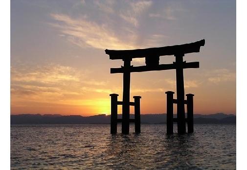 「白鬚神社」の見どころ④与謝野夫婦の歌碑