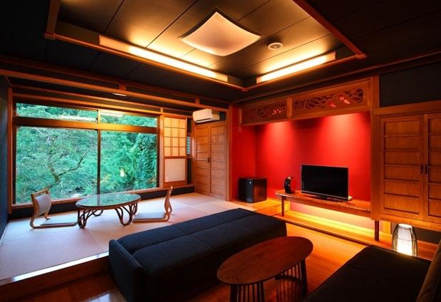 「鶴の恩返し よみがえりの宿 鶴霊泉」の魅力とは①和モダンな客室