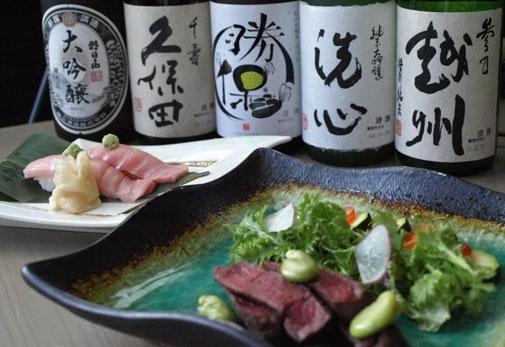 1日目①:新潟駅到着後「佳肴 あさひ山」で昼食