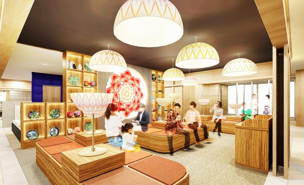 金沢の伝統を体感できる素敵な空間デザインのラウンジに注目