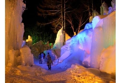 氷点下の森 氷祭り
