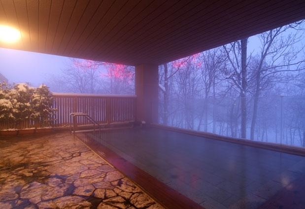 森の天空露天風呂!?北海道・ニセコ昆布温泉「ホテル甘露の森」って?その4