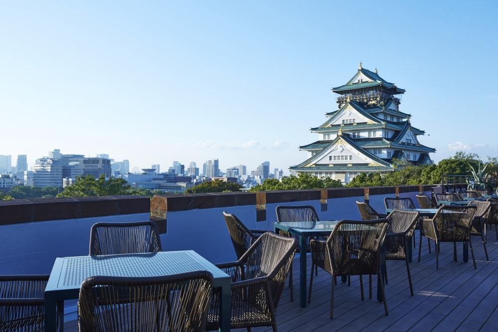 大阪城天守閣が目の前に!手ぶらでBBQが楽しめるテラスがオープンその4