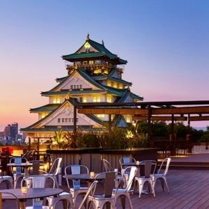 大阪城天守閣が目の前に!手ぶらでBBQが楽しめるテラスがオープンその0