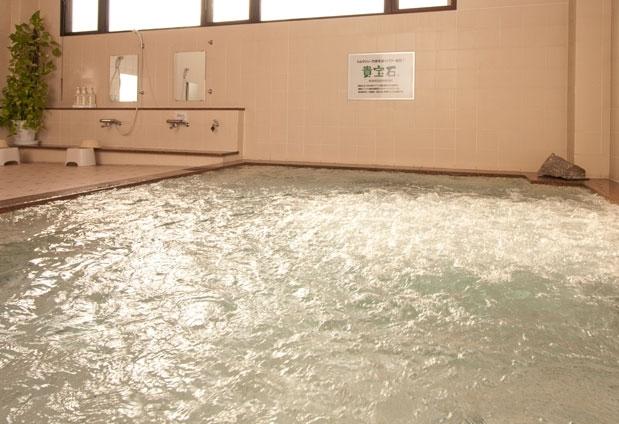長野県「八ヶ岳グレイスホテル」の魅力②遠赤外線&マイナスイオンに癒される大浴場