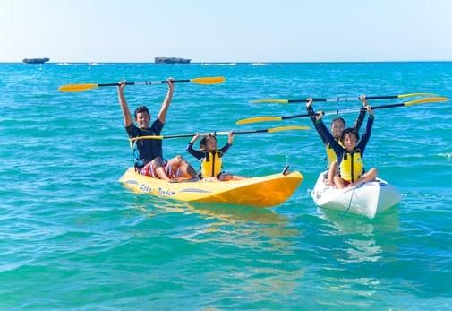 観光プラン①「恩納海浜公園ナビービーチ」で海を満喫