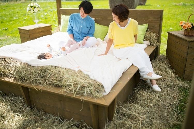 牧草で作っているのにとっても快適!