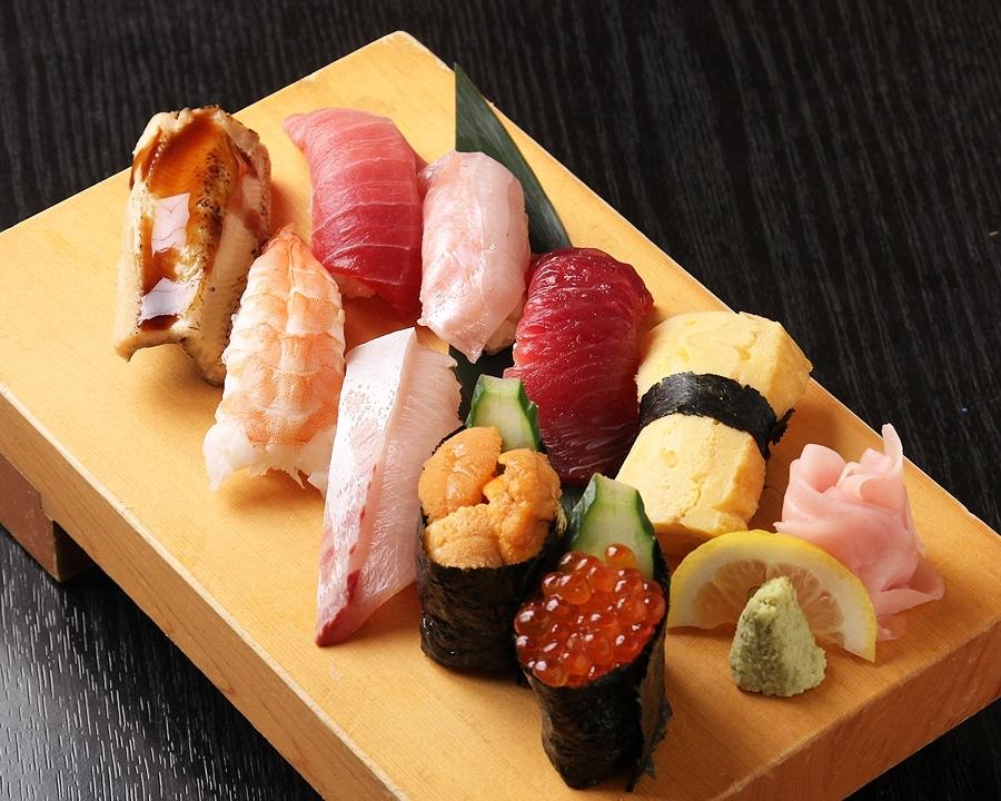 一度食べればトリコになる絶品寿司